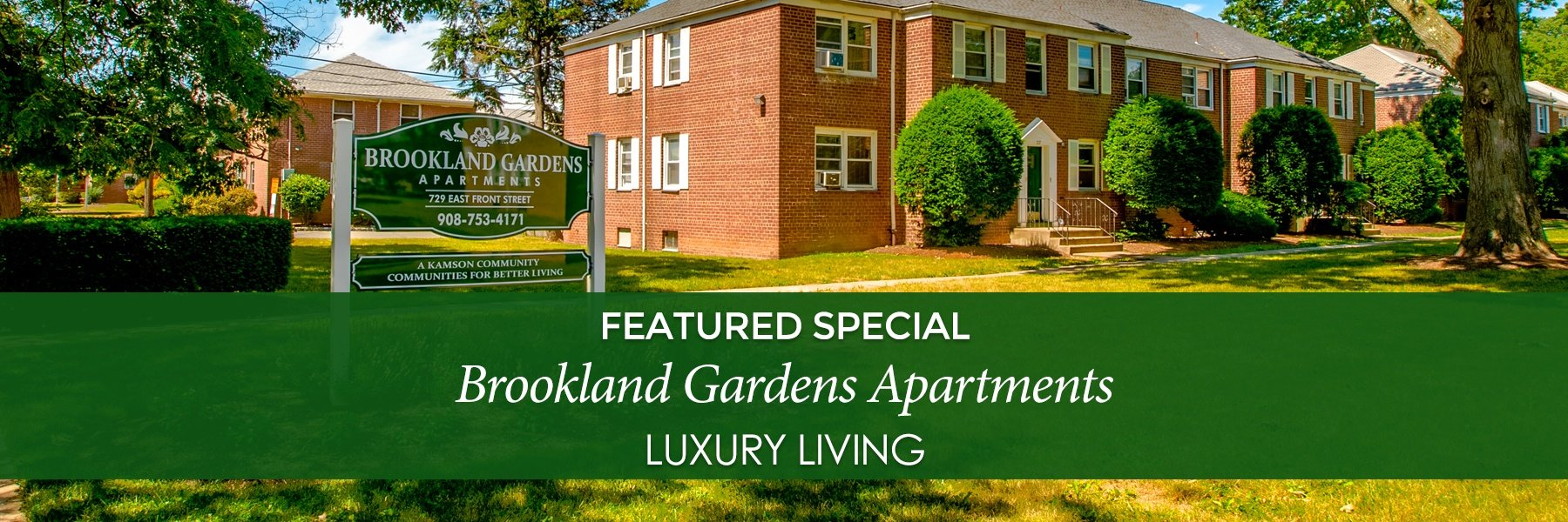 Brookland Gardens Apartments For Rent in Plainfield, NJ Specials